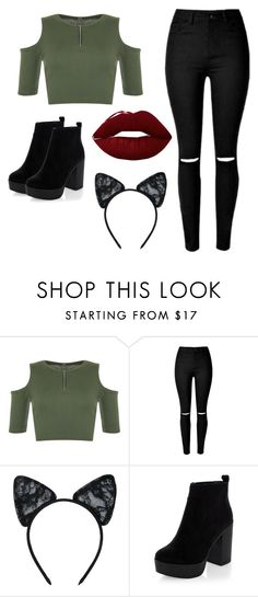 """""""Skilled"""" by unclassicly-classic ❤ liked on Polyvore featuring WearAll, Maison Close and Lime Crime"""