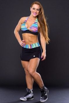Top Amarração Pescoço e Shorts Saia Paint Preto - Canoan MM0771PN-MM0330PN Dani Banani Fashion Fitness
