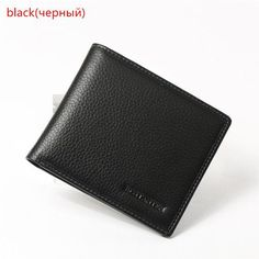 de386207dc Bostanten 100% Genuine Leather Fashion Designer Brand Leather Wallet Coffee  Leather Money Men Wallet Card Holder Male Coin Purse