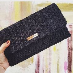 Pouch, Wallet, Knitting Accessories, Purses And Bags, Diy And Crafts, Crochet Patterns, Crocheted Bags, Vintage, Projects