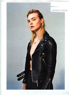 Fashion Copious - Elle Fanning by Collier Schorr for i-D Fall 2015