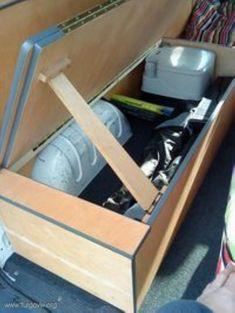 Cool 49 Best Hidden Camper Storage Ideas That Inspire http://homefulies.com/index.php/2018/06/12/49-best-hidden-camper-storage-ideas-that-inspire/