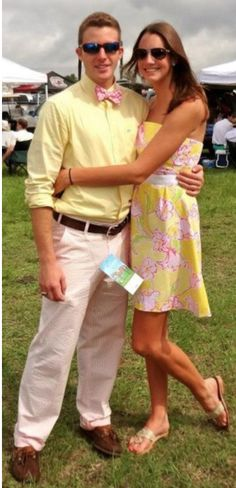 Awww I will make sure that me and my southern gent are always matching!