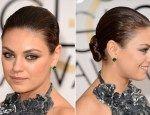 BEST: Mila Kunis #hairstyles #hairtrends #GoldenGlobes