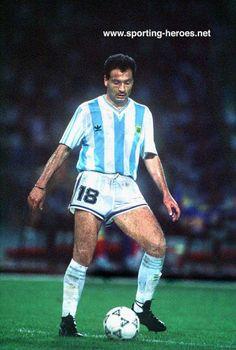 Jose Serrizuela - Argentina - FIFA Copa del Mundo 1990 Fifa, Argentina Football Team, World Cup Final, Soccer Players, Hero, Running, Sports, Legends, Hipster Stuff