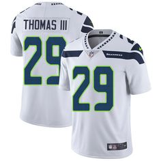 Nike Seahawks #29 Earl Thomas III White Men's Stitched NFL Vapor Untouchable Limited Jersey