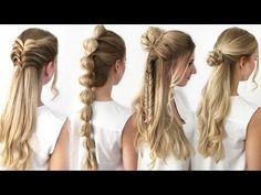 Die 64 Besten Bilder Von Einfache Frisuren In 2019 Easy Hairstyles