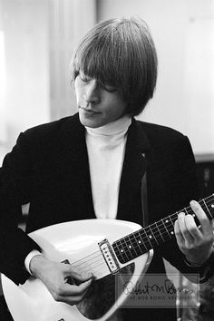 Brian Jones Rolling Stones Vox Teardrop 1964 Guitar Limited Edition Photograph   Bob Bonis, photographer