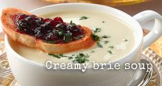 brie soup from @vegsoc