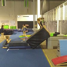 """438 Likes, 26 Comments - Gymnastics coach and clinician (@swingbiggym) on Instagram: """"They have so much fun with this vault drill. It's also great for awareness. · · · · · ·…"""""""
