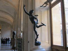 Sculpture of Mercury Mercury, Art Boards, Louvre, My Arts, Artist, Artists, Louvre Doors