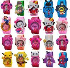 Cartoon Watch Children Silicone Quartz WristWatch //Price: $15.99 & FREE Shipping //     #kitchen #simpleby