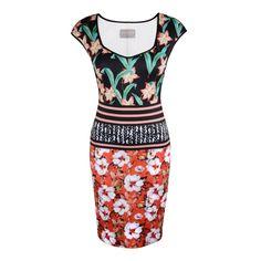Robe à imprimé floral - 374 $ #CLOVERCANYON Floral-print dress