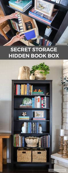 Hide valuables in plain sight and make this DIY secret storage hidden book box