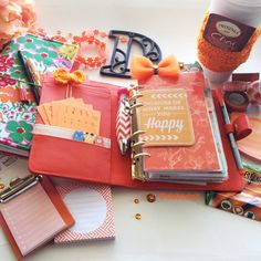 🍊Orange Planner Accessories ripe for the picking 😜