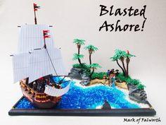 Blasted Ashore! by Mark of Falworth http://flic.kr/p/dWXX8d