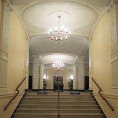 Entrance view - Pasadena Masonic Temple