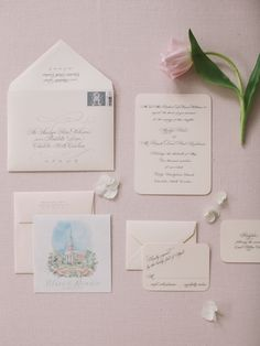 Planner: DBB Events, Invite Suite: Elisabeth Rose and Arzberger Engraves