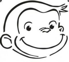 Pumpkins search and patterns on pinterest for Curious george cake template