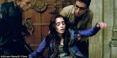 A movie still from The Mortal Instruments: City of Bones (2013)