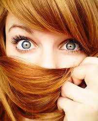 Resultado de imagem para cabelos ruivos claros