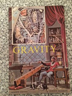 A personal favorite from my Etsy shop https://www.etsy.com/uk/listing/491866065/science-service-gravity-book-science