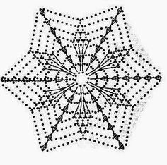 Best 7 beautiful, beautiful, christmas center in crochet. View and share – Crochet Designs Free – SkillOfKing. Crochet Cape Pattern, Crochet Snowflake Pattern, Crochet Motif Patterns, Crochet Stars, Crochet Snowflakes, Crochet Diagram, Crochet Designs, Crochet Flowers, Crochet Stitches