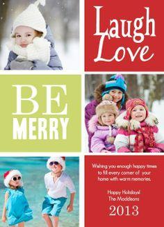 Multi-photo card by PurpleTrail.com. #holidayphotocards #holidaycards #christmascards #christmasphotocards