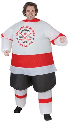 Inflatable Hockey Player Adult
