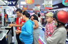 Kinh nghiệm mua tivi LCD cũ giá rẻ tại Hà Nội