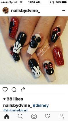 Vegas Nails, Matte Nails, Disney, Beauty, Matte Nail Polish, Beauty Illustration, Matt Nails, Disney Art
