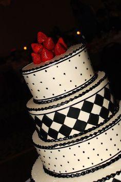 American gangster wedding cake