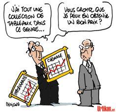 Claude Guéant : De l'argent et des tableaux ? - Dessin du jour - Urtikan.net
