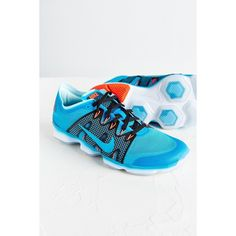 big sale fe3fb c4bdb Nike Women s Zoom Fit Agility 2 Training Sneaker ( 130) ❤ liked on Polyvore  featuring shoes, blue, traction shoes, blue shoes, flexible shoes, nike  shoes ...