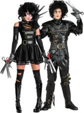 Miss Scissorhands and Grand Heritage Edward Scissorhands Couples Costumes - Party City