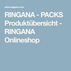 RINGANA - PACKS Produktübersicht - RINGANA Onlineshop