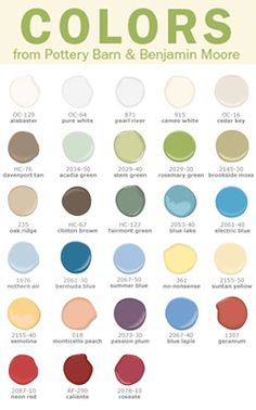 Pottery Barn Colors for Fall 2008 | Color for Your Home
