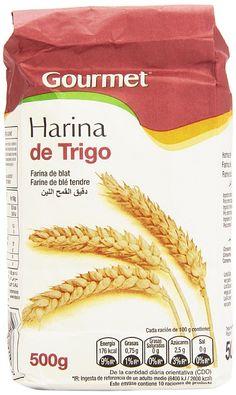 0,35€ - Gourmet - Harina de trigo - Contiene gluten - 500 g