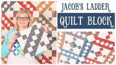 Jacob's Ladder Classic & Vintage Quilt Series - Fat Quarter Shop Quilting Tips, Quilting Tutorials, Quilting Projects, Sewing Tutorials, Fat Quarter Quilt, Fat Quarter Shop, Vintage Quilts Patterns, Quilt Patterns, Block Patterns