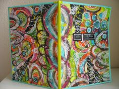Art Journal cover - ida's creaties