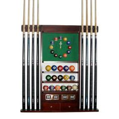 Diy pool cue holders pool cue stick holder game room for Cue rack plans