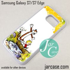 Calvin And Hobbes Phone Case for Samsung Galaxy S7 & S7 Edge