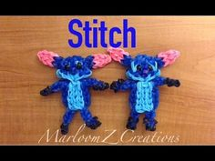 Rainbow Loom Stitch - Lilo and Stitch