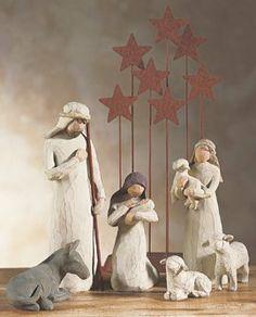 Enesco Disney Willow Tree - Set de Navidad, de resina, altura de 23 cm, multicolor de Willow Tree, http://www.amazon.es/dp/B00164M9XA/ref=cm_sw_r_pi_dp_HdqQsb039MKKZ