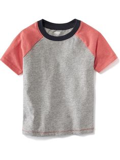 Colorblock Baseball Tee ~ Toddler Boy ~ Old Navy