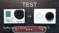 XIAOMI YI vs GOPRO 3 SILVER  TEST COMPARATIF CAMERA