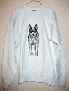 AUSTRALIAN CATTLE Dog aka Queensland Heeler or by iamfinebydesign, $31.00