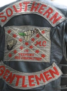 In all honesty, darlings, the Southern Gentlemen Motorcycle Club is not to be confused with my kind of Southern gentlemen.
