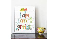 {i am an artist} inspire.