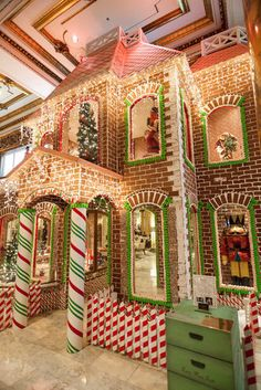 23 Photos of the Fairmont Hotel's Two-Story Gingerbread House - Architectural Craziness - Curbed SF